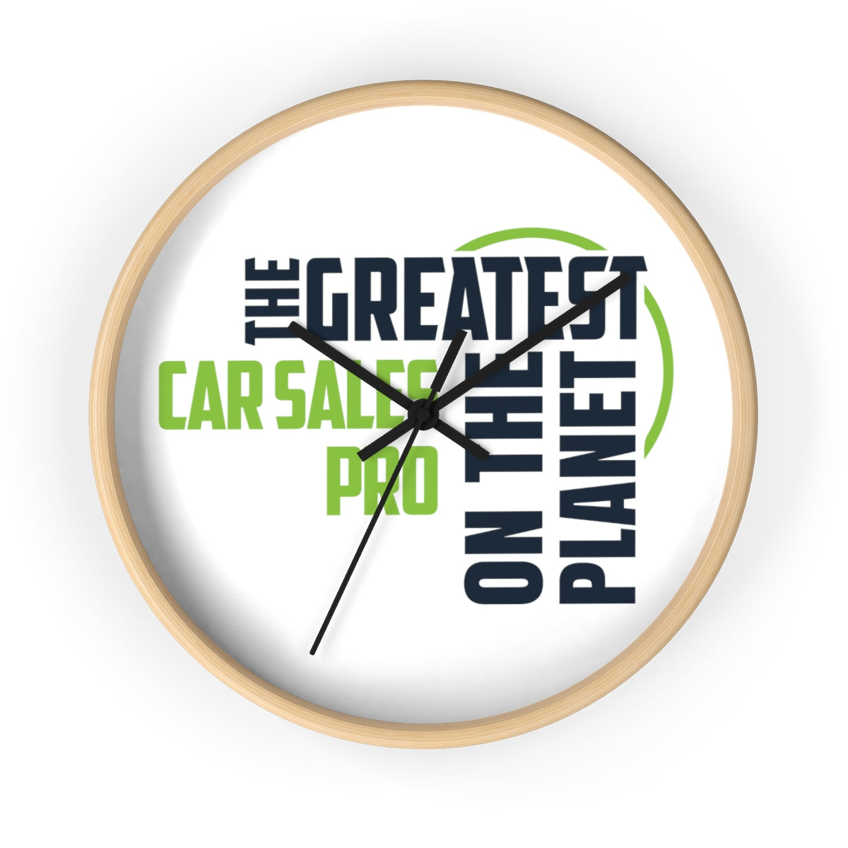 Wall clock - Car Sales Pro