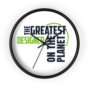 Wall clock - Designer