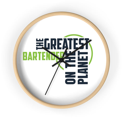 Wall clock - Bartender