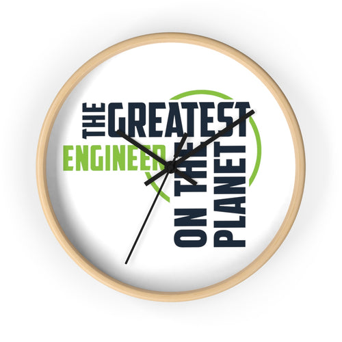 Wall clock - Engineer