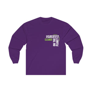 Women's Long Sleeve Tee - Cleaner