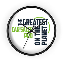 Load image into Gallery viewer, Wall clock - Car Sales Pro