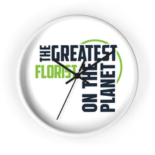 Load image into Gallery viewer, Wall clock - Florist