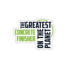 Load image into Gallery viewer, Stickers - Concrete Finisher