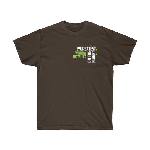 Men's T-shirt - Window Installer