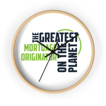 Load image into Gallery viewer, Wall clock - Mortgage Originator