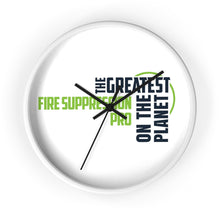 Load image into Gallery viewer, Wall clock - Fire Suppression Pro