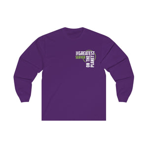 Women's Long Sleeve Tee - Server
