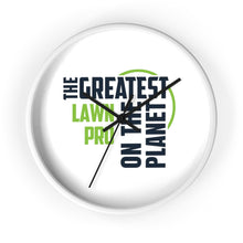 Load image into Gallery viewer, Wall clock - Lawn Pro