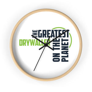 Wall clock - Drywaller