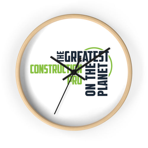 Wall clock - Construction Pro