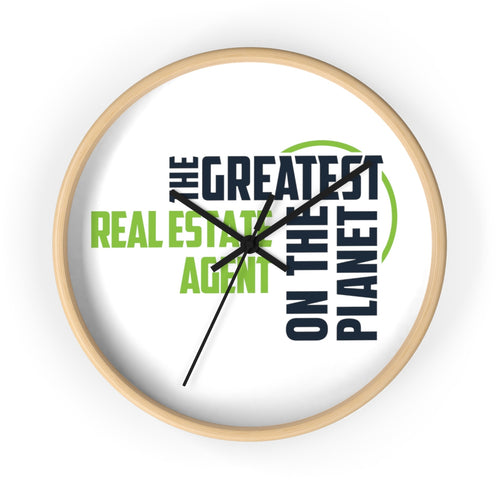 Wall clock - Real Estate Agent