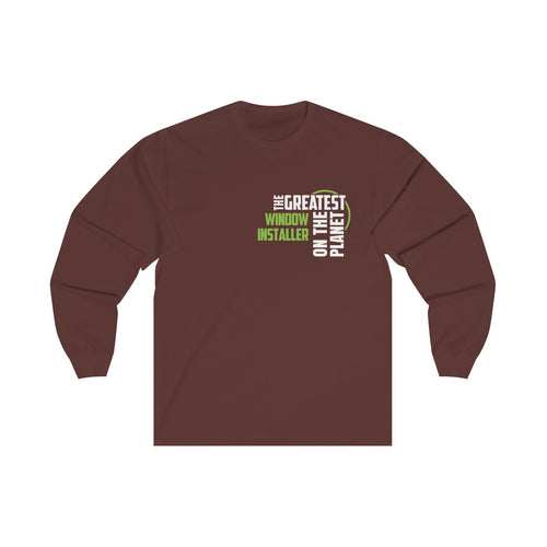 Women's Long Sleeve Tee - Window Installer