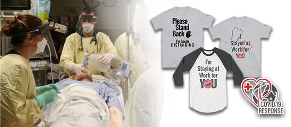 Single Mom Combats the COVID-19 Pandemic with Social Distancing T-Shirt Campaign
