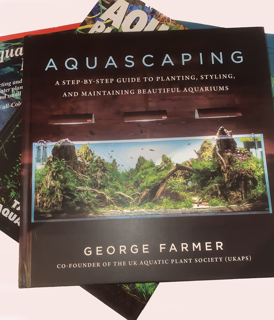 Book review Aquascaping; a step-by-step guide to planting, styling, and maintaing beutiful aquariums.