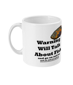 11oz Mug Will Talk About Fish