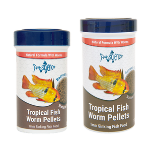 Fish Science - Worm Pellets - 125g