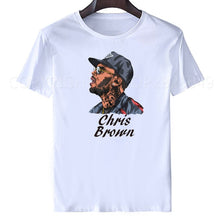 Load image into Gallery viewer, Fashion Chris Brown Back To Sleep Tour Rock Men Crew Neck Casual T Shirt Custom Print Casual O-Neck Top Tee women tops tees