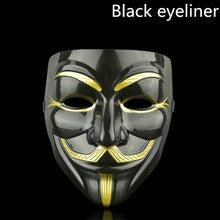 Load image into Gallery viewer, 1PCS 8 Style Party Masks V for Vendetta Mask Anonymous Guy Fawkes Fancy Adult Costume Accessory Party Cosplay Halloween Masks,Q
