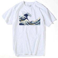 Load image into Gallery viewer, New Designer tshirts The Great Wave of English Bulldog T-shirt For Man off white T Shirts women summer 2019 plus size tshirt top