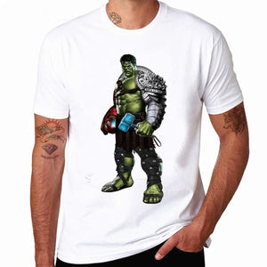 NEW Movie Avengers 3 Infinity War Superhero Thanos Hawkeye Hulk Tees Print T Shirt Unisex Tops Summer Fashion Men T-Shirt