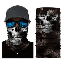 Load image into Gallery viewer, Motorcycle Face Mask Motorbike Headwear Riding Scarf Cycling Neck Headband Fullface Shield Mask Moto Helmet Bandana Motera Cap