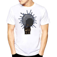 Load image into Gallery viewer, Rocksir t shirt 2018 Summer Style Fashion tshirt men Rock Band Slipknot Print Hip Hop Tee shirt Short Sleeve summer white tops