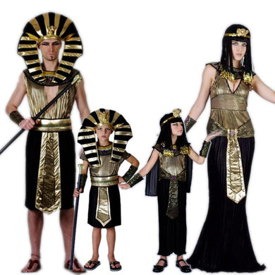 Egypt Pharaoh Costumes For Halloween Party Adults Clothing Egyptian King Men Prince Purim Fancy Dress