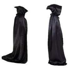 Load image into Gallery viewer, New Darth Vader Terry Jedi Black Robe Jedi Knight Hoodie Cloak Halloween Cosplay Costume Cape For Adult