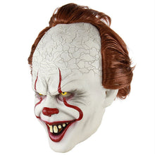 Load image into Gallery viewer, Clown Silicone Back Soul Mask Cos Head Set Halloween Horror Props Natural Latex Adult Code Hot Selling