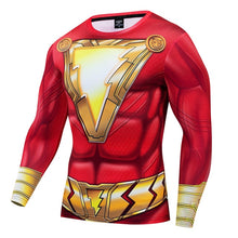 Load image into Gallery viewer, Marvel 3D Ironman Captain Muscle Tees FashionSuperhero Clothes Long SleeveShirt Fitness Man Outfit Tight Quick Drying t shirt