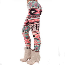 Load image into Gallery viewer, Women Snowflake Christmas Deer Print Leggings Girl Winter Legging Bottoms  Clothing Jeggings Large Size