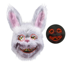 Load image into Gallery viewer, 2019 New Bloody Teddy Bear Mask Masquerade Scary Plush Mask Halloween Performance Props Fashion Halloween Supplies