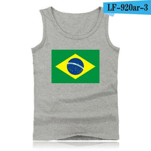 Load image into Gallery viewer, Canadian Flag Casual Tank Top Men Fashion Black  Bodybuilding Shirt Sleeveless Canada Flay White XXS-4Xl Size  Summer Vest