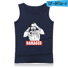 Load image into Gallery viewer, Anime Suicide Squad Harley Quinn Tank Top Men  Fitness and Sleeveless Bodybuilding Shirt in 4XL  Clothing Summer Vests