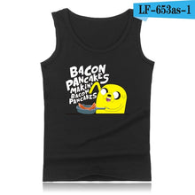Load image into Gallery viewer, Adventure Time XXS 4XL Summer Tank Top Men Vests and Anime Adventure Time Plus Size Sleeveless Shirts Summer Style
