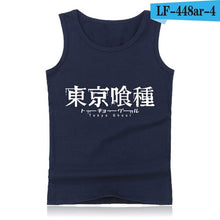 Load image into Gallery viewer, Tokyo Ghoul Anime Tank Top Men with Cartoon Print Summer Vest Bodybuilding Shirt Street Wear Style
