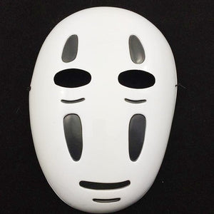 Anime Movie Spirited Away No Face Man Cosplay Costume Full Set Halloween Costume Robe + Gloves + Black/Purple Mask