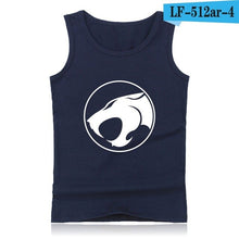 Load image into Gallery viewer, Thundercats Street Wear Style  Tank Tops Men Sleeveless Shirts and Thunder Cats Bodybuilding Clothing in Summer Vests