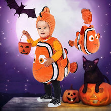 Load image into Gallery viewer, New Finding Nemo Baby Costume Fish Clownfish From Pixar Animated Little Baby Child Kids Halloween Christmas Cosplay Costume