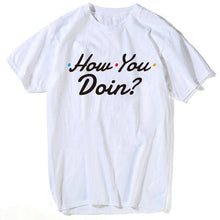 Load image into Gallery viewer, how you doin friends T shirt men top tee shirt nightmare before christmas plus size star wars t shirt men compression shirt