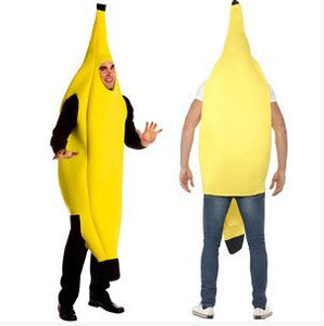 Carnival Clothing Men Cosplay Adult Fancy Dress Funny Sexy Banana Costume Novelty Halloween Christmas Carnival Party Decorations