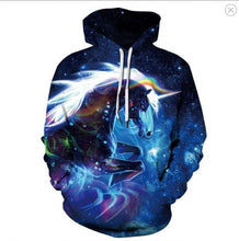 Load image into Gallery viewer, New 2019 fashion spring hoodie 3d-printed men's and women's thin sport shirts hoodies colorful lion hat tops pullovers