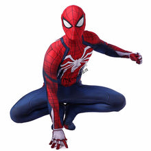 Load image into Gallery viewer, Adult Spiderman Ps4 Costume Game Insomniac Spider Man Suit Children Kids 3D Print Spider-Man Cosplay Clothing