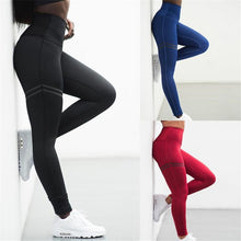Load image into Gallery viewer, Leggings Pant Trouser High Waist Elasticity For Women Lady Running IK88