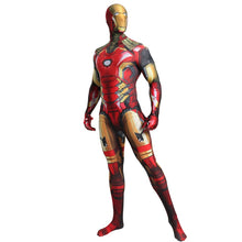 Load image into Gallery viewer, Deluxe Quality Iron Man Costume Adult Endgame Superhero Costume For Men Iron Man Cosplay Costume Halloween Costume For Adult