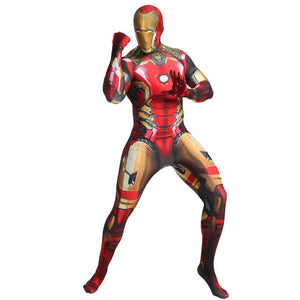 Deluxe Quality Iron Man Costume Adult Endgame Superhero Costume For Men Iron Man Cosplay Costume Halloween Costume For Adult