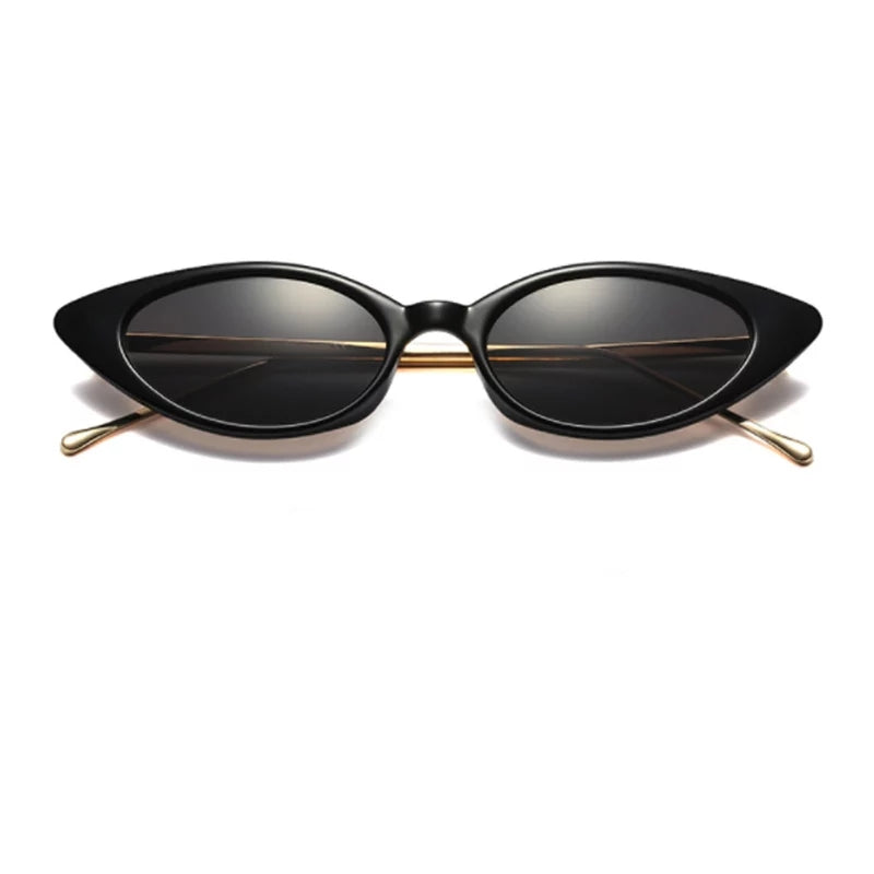 Black Cat Eye Women's Sunglasses