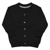 """Here Comes Trouble"" Baby Organic Bomber Jacket - Kerassi"