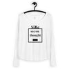 """Sike B*tch"" Ladies' Long Sleeve Tee - Kerassi"